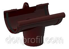 Воронка ринви 120/85 мм коричнева червона
