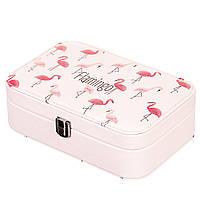Шкатулка для украшений Unicorn Studio Фламинго 15х22х7 см0088JA-C