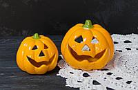 """Декоративный подсвечник керамика""""Хеллоуин"""" большой, фото 1"""