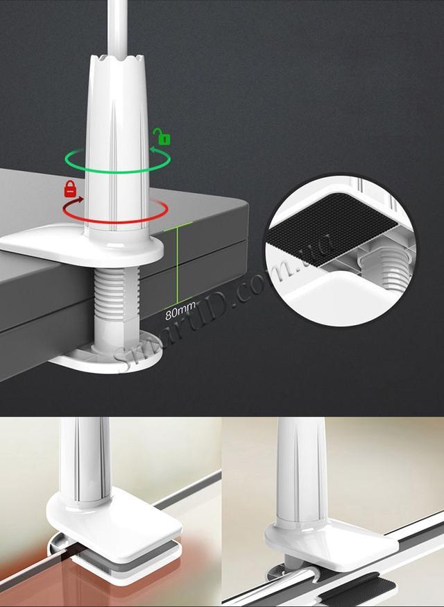 Гибкий механический держатель/подставка для смартфона Mokis M-Z05 (Белый)