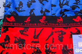 Мужское белье камасутра широкая спортивная резинка яркие Golt, 3302, фото 2