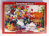 Пазлы 1000 Цветы 103836 Castorland Польша, фото 2