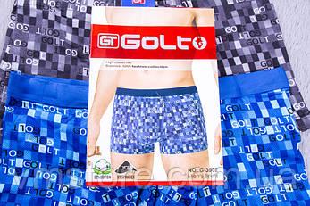 Мужское белье широкая мягкая резинка Golt, 3902, фото 2