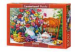 Пазлы 1000 Цветы 103836 Castorland Польша, фото 3