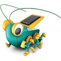 Конструктор SUNROZ Solar Robot Detective BugSee набор робота работающего от энергии солнца (SUN20559), фото 1