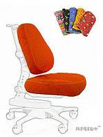 Чехол Newton KY (XL) ткань оранжевая однотонная, для кресла (Y-818), Mealux