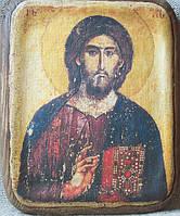Икона Христос Пантократор (Хиландрийский),13 век.