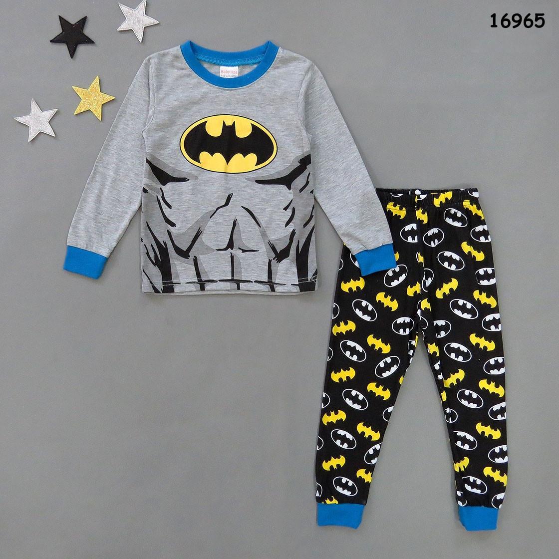 Пижама Batman для мальчика. 4 46eb2ad703e6a