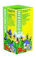 """Бронхин-Натуральный фитобальзам,лечение бронхиты, пневмонии, обструктивный бронхит (30мл """"Экомед"""" )"""