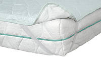 Односпальный наматрасник Бриз 80х190 Come-For h0,1  жаккард + льняная вата с резинками