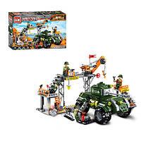 Конструктор типа Лего (Brick) Военная серия 1712