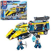 Конструктор типа Лего (Brick) Горнодобывающая команда 2406