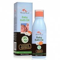 Миндальное масло для купания младенцев с ромашкой, органич. календулой и лавандой Mommy Care (400 мл)
