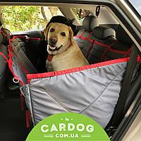 Автогамак Трансформер Доггин Дабл (4-in-1) чехол,накидка,подстилка для перевозки собак в машине