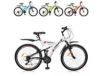 "Велосипед 26 д. сталь, рама 19,5"", SHIMANO 18SP, алюм.VB, МИКС цветов"