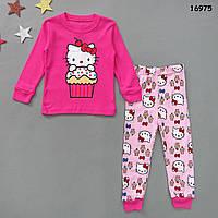 Піжама Hello Kitty для дівчинки., фото 1
