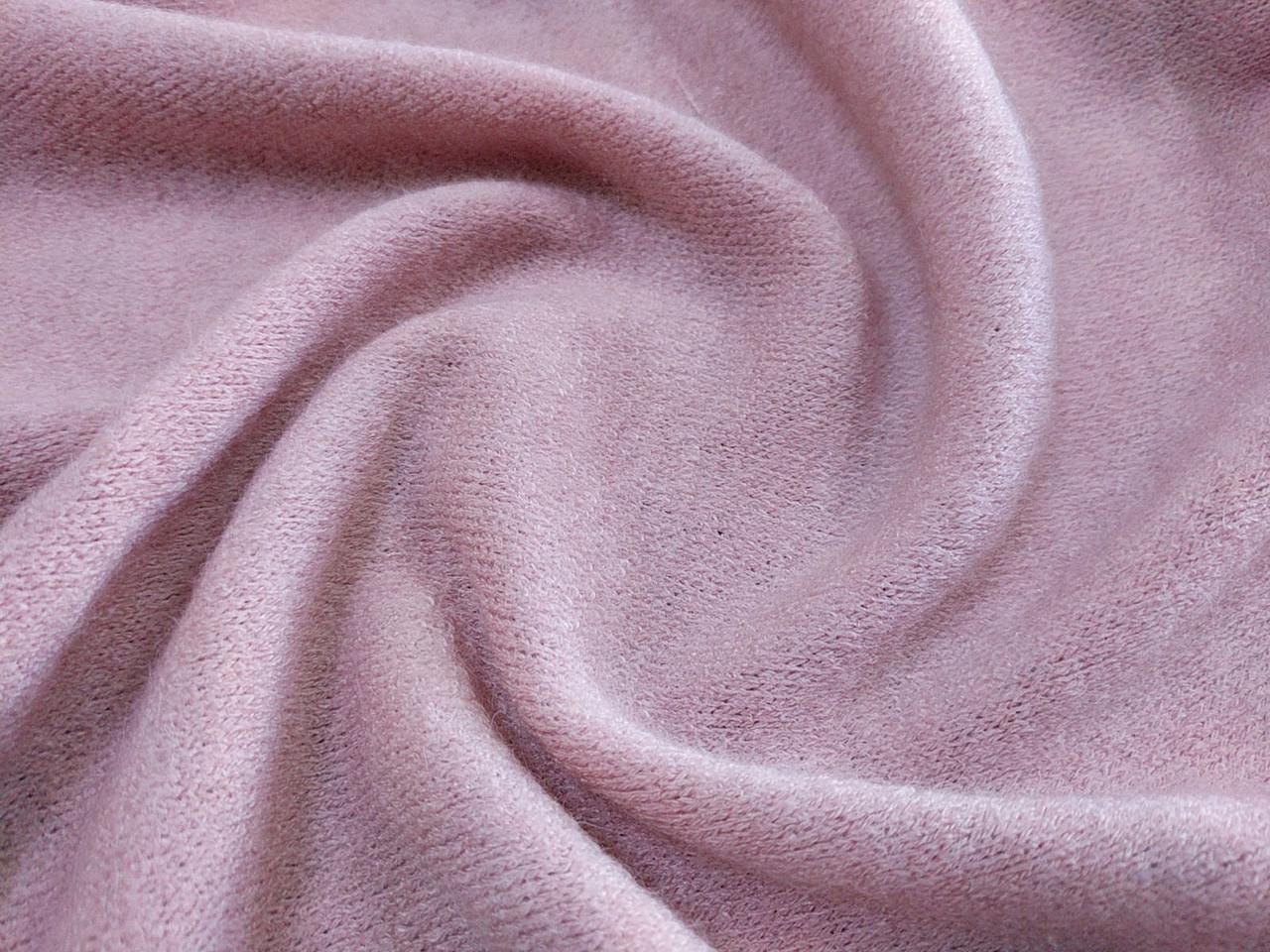 Трикотаж ангора Арктика, розовый