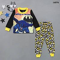 Пижама Batman для мальчика. 2, 3 года