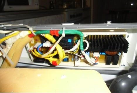 Модуль управления, покрытый силиконом.