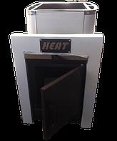 Печь каменка Heat-15 выносная,без стекла