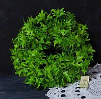 Вінок із зелені штучної 30 см