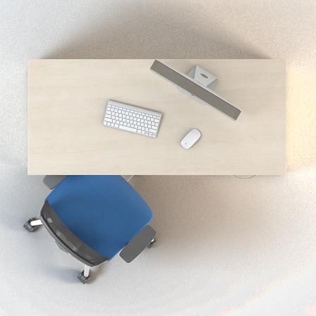 Комплект мебели для персонала серии Сенс композиция №2 ТМ MConcept, фото 2