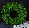 Венок из зелени искусственной 42 см