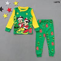 Пижама Minnie&Mickey Mouse унисекс. 90, 95, 110, 120 см, фото 1