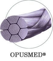 Нитка полигликолевая кислота (ПГА) плетеная №2/ 0 (3) 0,75см 1/2,26мм, К,1