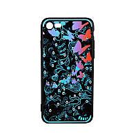 Чехол-накладка Beckberg Spring for iPhone 6/6S Blue