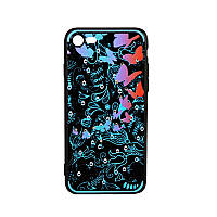 Чехол-накладка Beckberg Spring for iPhone 6/6S Blue