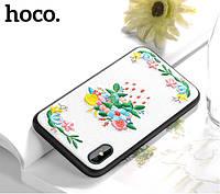 Чехол-накладка Hoco summer flowers вышиванка- букет для iPhone 7/8