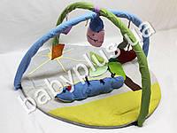 Коврик игровой с дугами и подвесными игрушками Гусеница