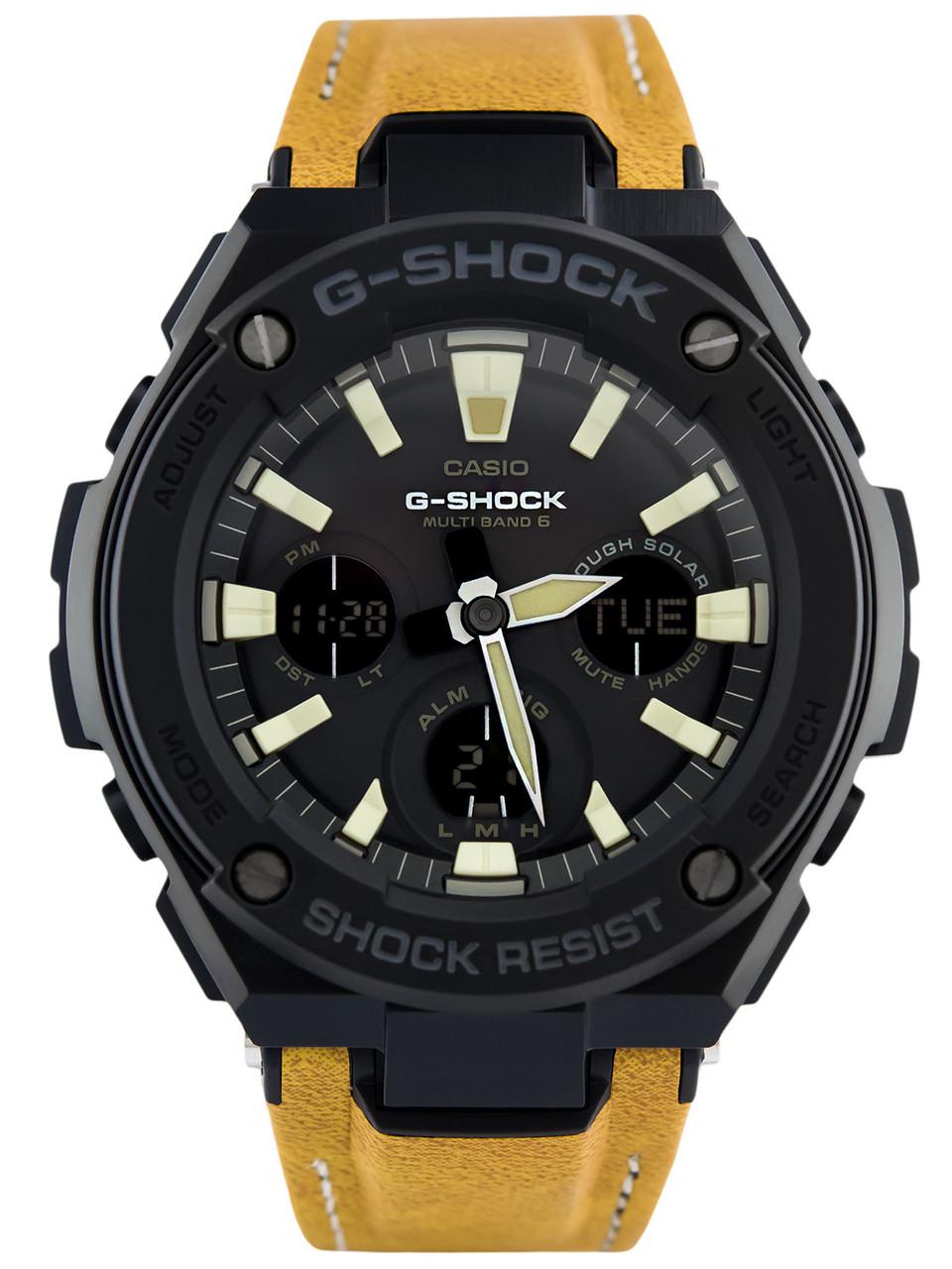 Часы Casio G-Shock G-Steel GST-S120L-1B TOUGH SOLAR