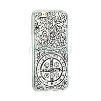 Чехол-накладка St.Benedict Medal Case iPhone 5 Silver