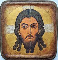 Икона Спас нерукотворный,12 век.