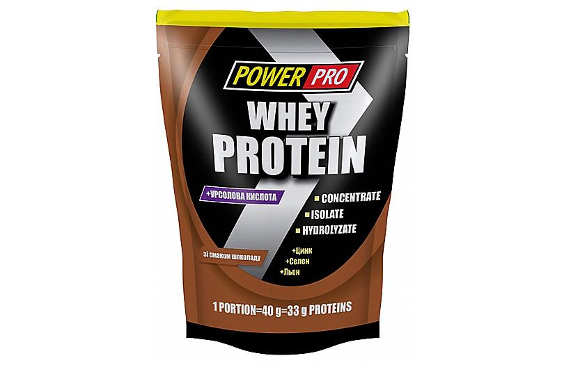 Протеин Power Pro Whey Protein 1kg. (ШОКОЛАД)