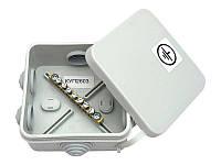 Распределительная коробка с клеммами Р-4, 90х80х25