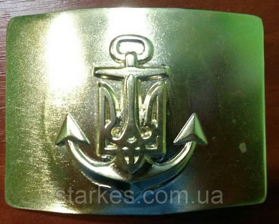 Пряжки морские латунь якорь с тризубом