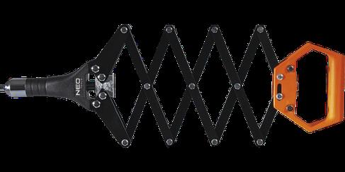 """Заклепочник """"гармошка"""" для заклепок 2.4, 3.2, 4.0, 4.8 мм  NEO  18-105, фото 2"""