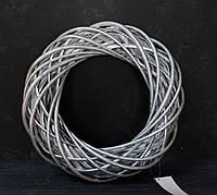 Вінок з лози срібло 30 см