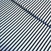 Ткань в черную полоску на белом фоне, ширина 160 см