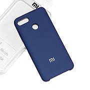 Силиконовый чехол на Xiaomi Mi 5X / Mi A1 Soft-touch Denim