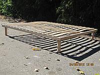 Каркас-кровать ламельный деревянный ортопедический