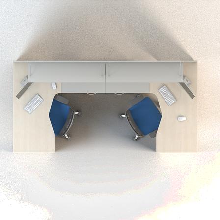 Комплект мебели для персонала серии Сенс композиция №4 ТМ MConcept, фото 2