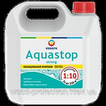 Укрепляющая глубокопроникающая грунтовка-концентрат Eskaro Aquastop Strong 3л