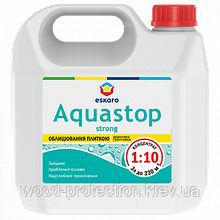 Укрепляющая глубокопроникающая грунтовка-концентрат Eskaro Aquastop Strong 1л