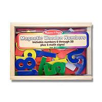 Магнитные деревянные цифры Melissa&Doug MD449 , фото 1