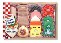 Деревянный набор Сэндвич Melissa&Doug MD513