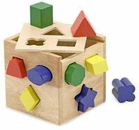 Сортировочный куб (сортер) Melissa&Doug MD575